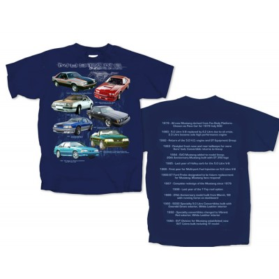 T-Shirt Homme Fox body Mustang
